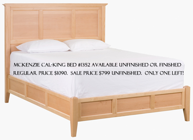 Whittier McKenzie Cal-King Bed #1352