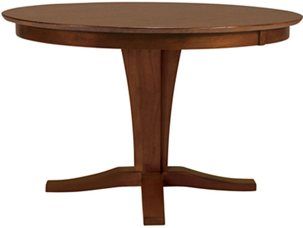 Parawood 45 Inch Round Extension Table Top, Espresso
