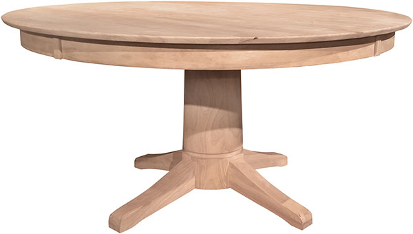 Round Wood Dining Table 60 Inch: Parawood 60 Inch Round Table Top