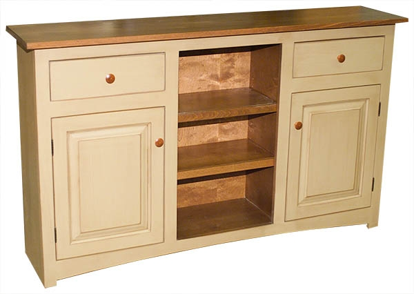 Brookline Cabinet Bare Woods Furniture Real Wood