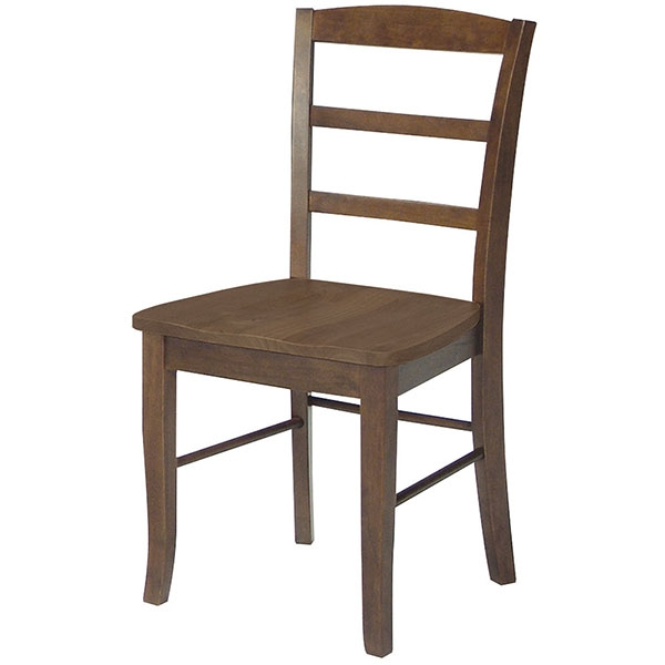 Parawood Madrid Chair Oak Finish Bare Woods Furniture