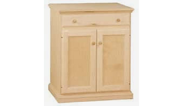 Microwave Cabinet, Available In Maple U0026 Oak