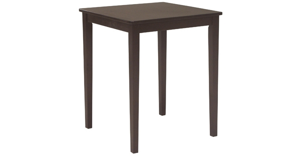 Parawood 30 Inch Square Table Bare Woods Furniture